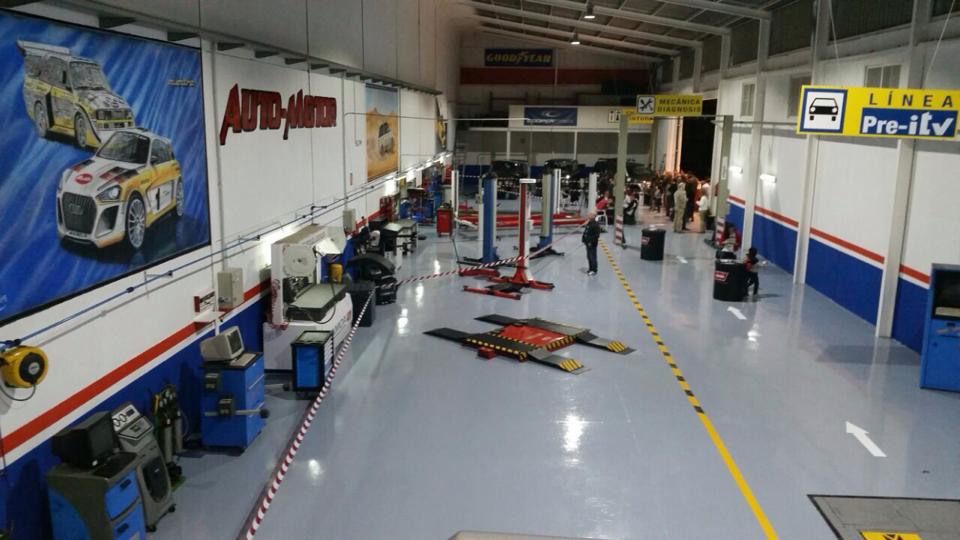 taller de reparación 4x4