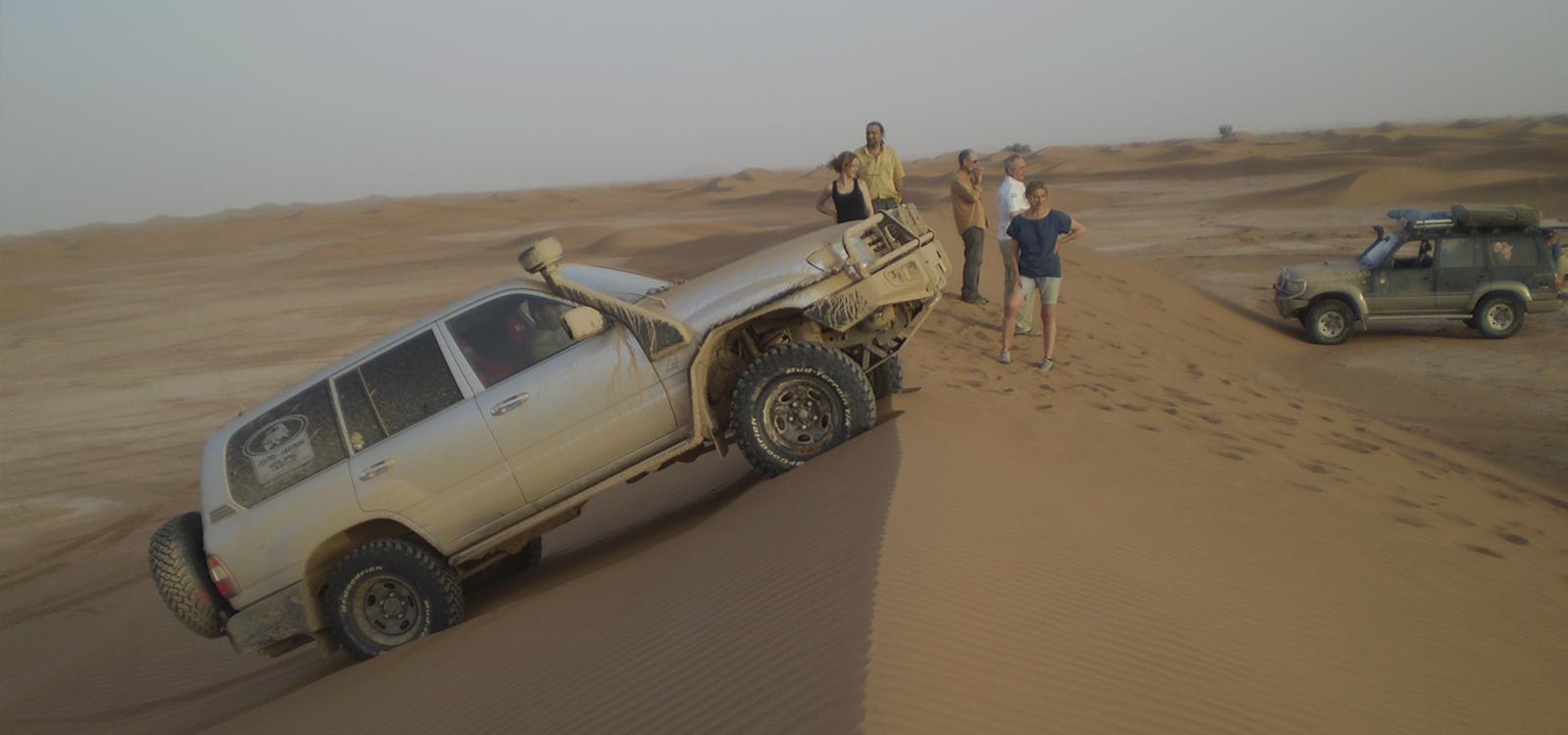 rutas 4x4 sahara