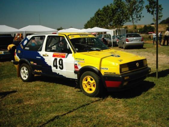 VW Golf II GTI tierra 1