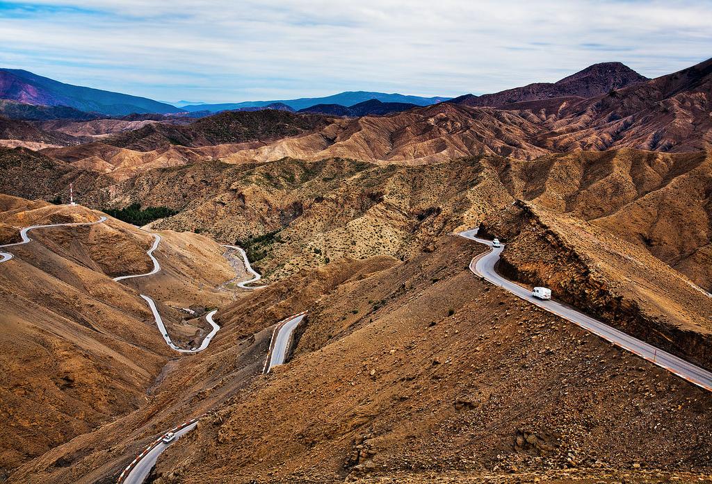 Morocco - Atlas Mountains: Mountain Road